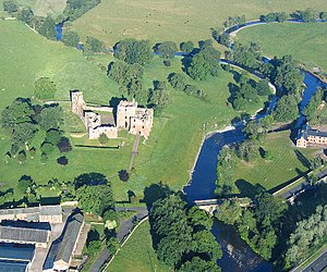 Brougham Castle - Brougham Castle was built in the north part of a Roman fort, near the confluence of the River Eamont and River Lowther.