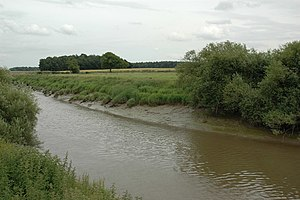 Acaster Selby - Image: River Ouse, Acaster Selby geograph.org.uk 200093