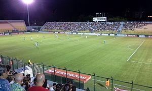 Club Atlético River Plate (Montevideo) - River Plate Montevideo playing against Palmeiras for Copa Libertadores 2016