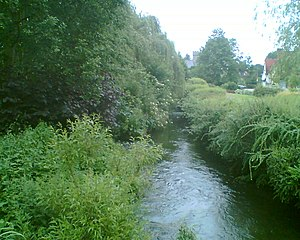 High Wycombe - River Wye near Wooburn Industrial Estate