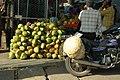 Roadside Coconuts, Bangalore, India (1627926095).jpg