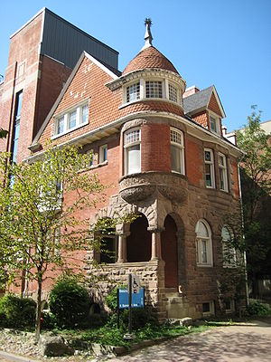 The Annex - The Robert Brown House, an Annex style house owned by the University of Toronto