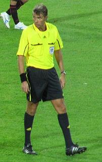 former Italian football referee