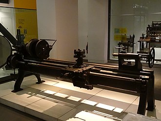 Richard Roberts (engineer) - Image: Roberts lathe at Science Museum 01