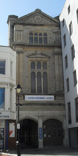 Henry Ward (architect) - Image: Robertson Street United Reformed Church, Hastings