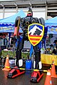 Robot Statue at ROCA 10th Army Group Recruitment Booth 20150606.jpg
