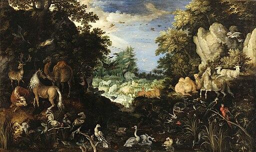 Roeland Savery - O paraíso terrestre