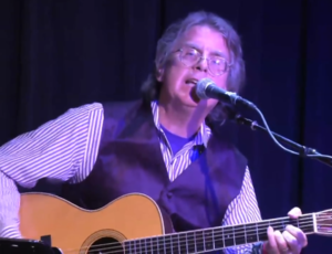 Roger McNamee - McNamee performing at his solo acoustic show at the Sweetwater Music Hall in Mill Valley, CA on 16 Sept. 2013.
