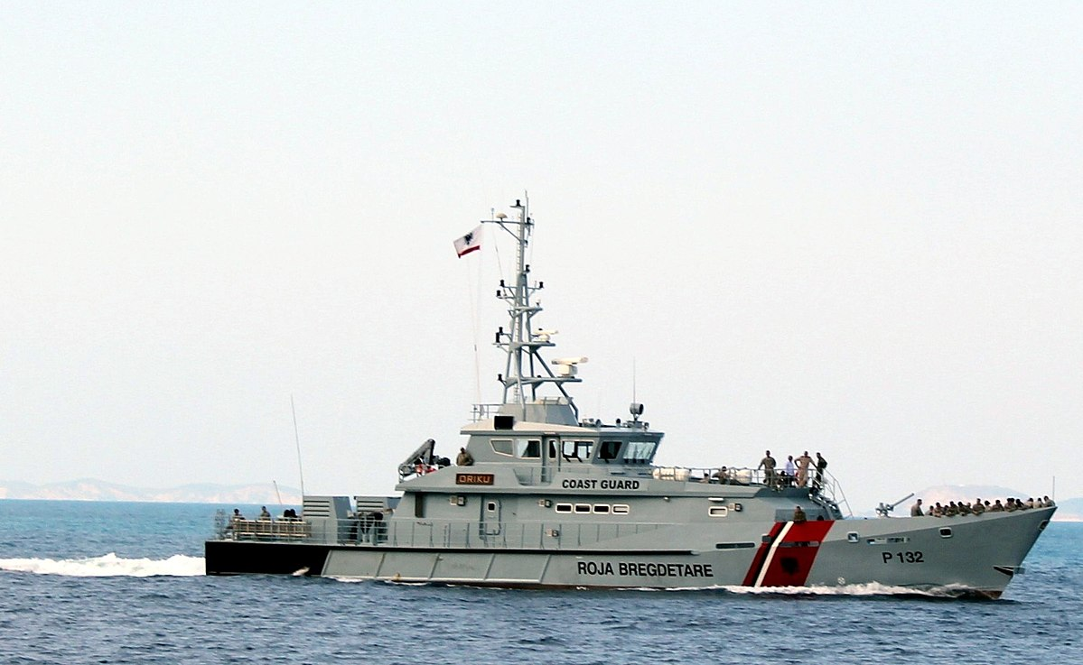 Albanian Patrol Vessel Oriku P 132 Wikipedia