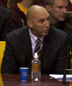 Ron Jirsa - Jirsa in 2009 as Minnesota assistant coach.