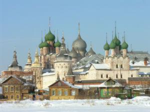 Kremlin (fortification) - The bishop's residence in Rostov, sometimes called a kremlin