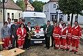 Rotkreuz-Ortsstelle Gars am Kamp, Segnung des neuen Einsatzfahrzeuges 2011.JPG