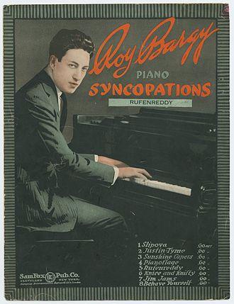 Roy Bargy - Image: Roy Bargy Rufenreddy Cover