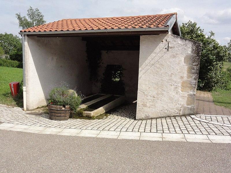 Rozelieures (M-et-M) lavoir