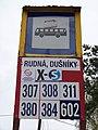 Rudná-Dušníky, Masarykova, zastávka Rudná, Dušníky směr Praha.jpg