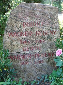 Rudolf Wagner-Régeny Grabstein