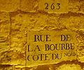Rue de la Bourbe, carrières des Capucins, Paris 2009.jpg