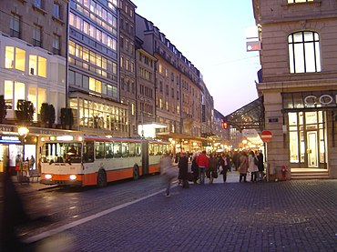 Ville Commerce Rue Pietonne