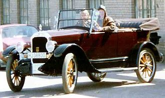 Durant Motors - Star Model F Touring 1924