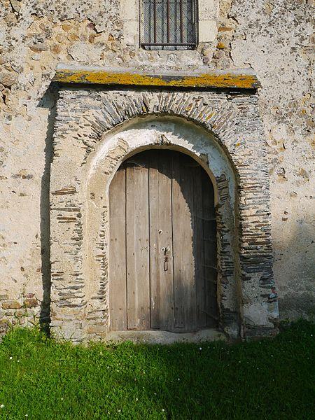 Portail de l'église de Froid-Fonds.