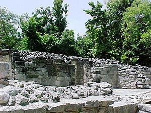 Xelha - Ruins at  Xel-Há