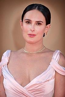 Rumer Willis American actress