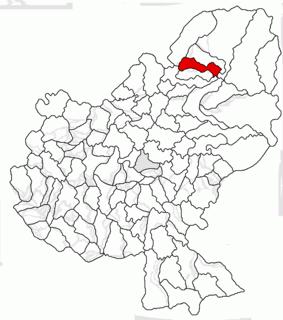 Rușii-Munți Commune in Mureș, Romania