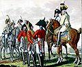 Sächsische Armee - Chevaulegers und Schwere Kavallerie II 1806.jpg
