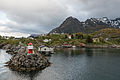 Sørvågen, Northeast view 20150608 1.jpg
