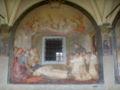 SMN Chiostro Grande n04 Santi di Tito, Morte di San Domenico.JPG