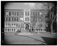 SOUTHEAST (PENN AVENUE) ELEVATION - Penn High School, Penn Avenue at Main Street, Greenville, Mercer County, PA HABS PA,43-GRENV,3-3.tif