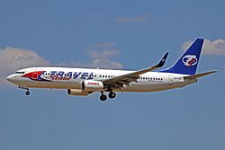 SP-TVZ B737-8BKW Travel Svc - Poland PMI 02JUN13 (8925571012).jpg