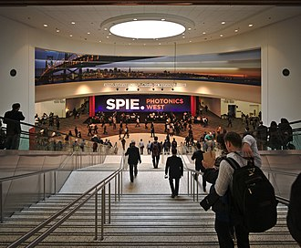 SPIE - Photonics West is one of the major SPIE conferences.