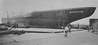 SS Manhattan (1962) - Image: SS Manhattan (1962)