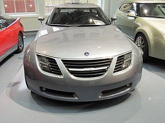 Saab 9-X - Image: Saab 9 X fronts