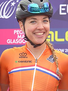 Sabrina Stultiens - 2018 UEC European Road Cycling Championships (Women's road race).jpg