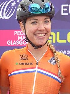Sabrina Stultiens Dutch cyclist