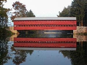 Sachs Covered Bridge - Image: Sachs Bridge Gettysburg