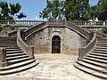Saint-Antonin-Noble-Val - Escalier de la place des Moines -1.JPG