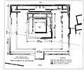 Saint-Désirat Chatelet temple plan Morel 1884.jpg