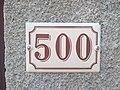 Saint-Laurent-d'Oingt - Numéro de rue 500 (juil 2020).jpg