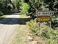 Saint-Pancré (Meurthe-et-M.) city limit sign.JPG