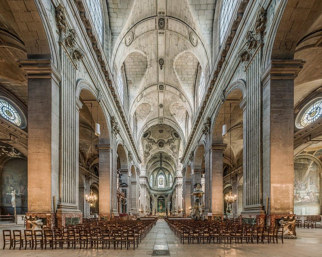 Interior de Saint-Sulpice