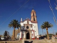 Saint Blaise Church, Pabellon de Hidalgo, Rincon de Romos, Aguascalientes State, Mexico