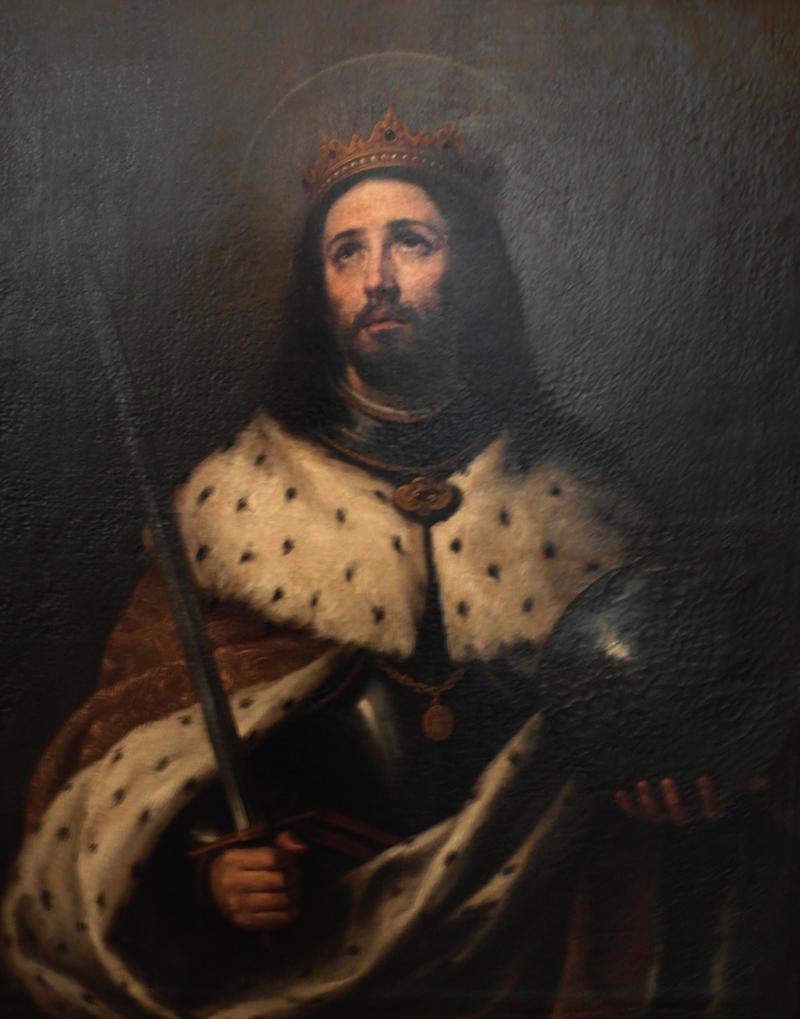Saint Ferdinand III by Bartolomé Esteban Murillo, Seville Cathedral.PNG