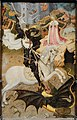 Saint George Killing the Dragon, 1434-1435, by Bernat Martorell - Art Institute of Chicago - DSC09654.JPG