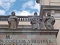 Saint Joseph, Saint John the Evangelist and Saint James. Vác Cathedral. - Hungary.JPG
