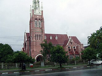 Church of the Province of Myanmar - Holy Trinity Cathedral, Yangon