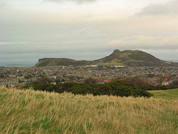 none  Arthur's Seat (right) from Blackford Hill