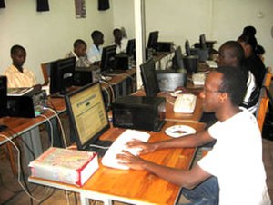 Bujumbura - Students at the University of Burundi